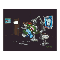 "Michael Godard Signed ""Pulling Teeth"" Limited Edition 28x35 Giclee on Canvas at PristineAuction.com"