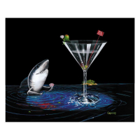 "Michael Godard Signed ""Card Shark"" Limited Edition 28x35 Giclee on Canvas at PristineAuction.com"