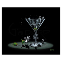 "Michael Godard Signed ""Drunk As A Skunk"" Limited Edition 28x35 Giclee on Canvas at PristineAuction.com"