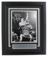 "Ray ""Boom Boom"" Mancini Signed 11x14 Custom Framed Photo Display (Fanatics Hologram) at PristineAuction.com"