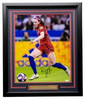 Rose Lavelle Signed Team USA 2019 FIFA World Cup Champion 22x27 Custom Framed Photo Display (JSA COA) at PristineAuction.com