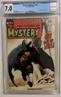"1971 ""House of Mystery"" Issue #195 DC Comic Book (CGC 7.0) at PristineAuction.com"