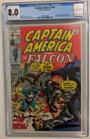 "1971 ""Captain America and the Falcon"" Issue #136 Marvel Comic Book (CGC 8.0) at PristineAuction.com"