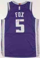 De'Aaron Fox Signed Sacramento Kings Jersey (PSA COA) at PristineAuction.com