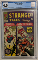 "1965 ""Strange Tales"" Issue #133 Marvel Comic Book (CGC 4.0) at PristineAuction.com"