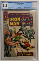 "1966 ""Tales of Suspense"" Issue #75 Marvel Comic Book (CGC 5.5) at PristineAuction.com"