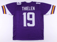 Adam Thielen Signed Jersey (TSE Hologram) at PristineAuction.com