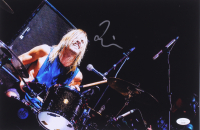 Taylor Hawkins Signed Foo Fighters 10x14.75 Photo (JSA COA) at PristineAuction.com
