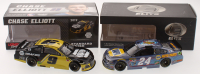 Lot of (2) Chase Elliott LE 1:24 Scale Die-Cast Cars with Signed #9 NAPA Brakes 2019 Camaro ZL1 Autographed & #24 NAPA Rookie of the Year 2016 SS Elite Galaxy Color (Elliott Hologram) at PristineAuction.com