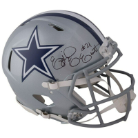 Ezekiel Elliott Signed Dallas Cowboys Full-Size Authentic On-Field Speed Helmet (Fanatics Hologram) at PristineAuction.com