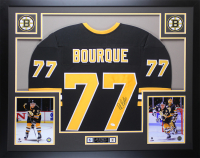 Ray Bourque Signed 35x43 Custom Framed Jersey (JSA COA) at PristineAuction.com
