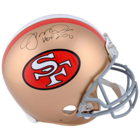 "Joe Montana Signed San Francisco 49ers Full-Size Authentic On-Field Helmet Inscribed ""HOF 2000"" (Fanatics Hologram) at PristineAuction.com"