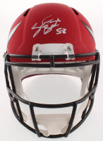Shaquil Barrett Signed Tampa Bay Buccaneers Full-Size AMP Alternate Speed Helmet (JSA COA) at PristineAuction.com