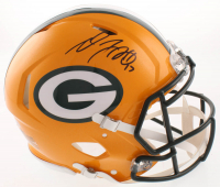 Davante Adams Signed Green Bay Packers Full-Size Authentic On-Field Speed Helmet (Beckett COA) at PristineAuction.com