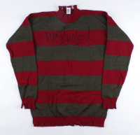 """Robert Englund Signed """"A Nightmare on Elm Street"""" Freddy Krueger Costume Sweater (Pristine Authentic COA) at PristineAuction.com"""