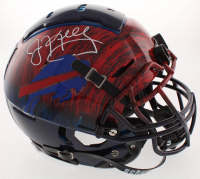 Jim Kelly Signed Buffalo Bills Full-Size Authentic On-Field Hydro-Dipped Helmet (JSA COA) at PristineAuction.com