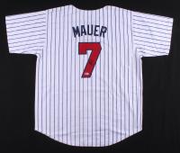 Joe Mauer Signed Jersey (Beckett COA) at PristineAuction.com
