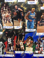 """""""NBA Legends"""" 40x60 LE Cut Collage on Canvas Signed by (61) with Michael Jordan, LeBron James, Kobe Bryant, Bill Russell (JSA LOA) at PristineAuction.com"""
