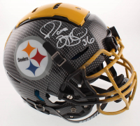 Jerome Bettis Signed Pittsburgh Steelers Full-Size Authentic On-Field Hydro Dipped F7 Helmet (JSA COA) at PristineAuction.com