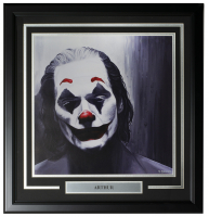 "Joaquin Phoenix LE ""Arthur"" 22x23 Custom Framed Print Display at PristineAuction.com"