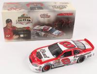 Dale Earnhardt Jr. LE #8 Budweiser / Born On Date / Daytona Win / Raced Version 2004 Monte Carlo Elite 1:24 Scale Die Cast Car at PristineAuction.com
