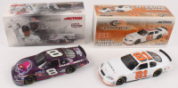 Lot of (2) Martin Truex Jr. LE 1:24 Scale Die Cast Cars with #8 Taco Bell / Raced Win Version 2004 Monte Carlo & #81 Chance 2 2003 Monte Carlo (RCCA COA) at PristineAuction.com
