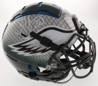 Brian Dawkins Signed Philadelphia Eagles Full-Size Authentic On-Field Hydro Dipped F7 Helmet (JSA COA) at PristineAuction.com