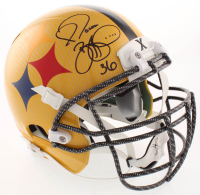 Jerome Bettis Signed Pittsburgh Steelers Full-Size Authentic On-Field Helmet (JSA COA) at PristineAuction.com