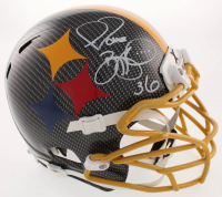 Jerome Bettis Signed Pittsburgh Steelers Full-Size Hydro Dipped Helmet (JSA COA) at PristineAuction.com