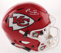 Patrick Mahomes Signed Kansas City Chiefs Full-Size Authentic On-Field SpeedFlex Helmet (JSA COA) at PristineAuction.com