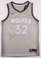 Karl-Anthony Towns Signed Minnesota Timberwolves Jersey (JSA COA) at PristineAuction.com