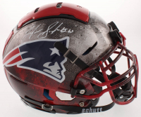 Josh Gordon Signed New England Patriots Full-Size Authentic On-Field Hydro Dipped F7 Helmet (JSA COA) at PristineAuction.com