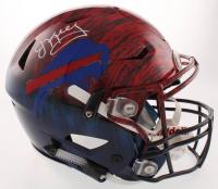 Jim Kelly Signed Buffalo Bills Full-Size Authentic On-Field Hydro Dipped SpeedFlex Helmet (JSA COA) at PristineAuction.com