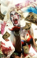 "Greg Horn Signed ""Harley Quinn's Blood Lust"" 11x17 Lithograph (JSA COA) at PristineAuction.com"
