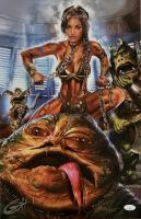 "Greg Horn Signed ""Slave Leia"" 13x19 Lithograph (JSA COA) at PristineAuction.com"