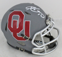 Kyler Murray Signed Oklahoma Sooners AMP Alternate Speed Mini Helmet (Becket COA) at PristineAuction.com