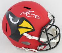 Kyler Murray Signed Arizona Cardinals Full-Size AMP Alternate Speed Helmet (Beckett COA) at PristineAuction.com