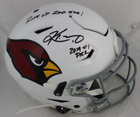"""Kyler Murray Signed Arizona Cardinals Full-Size SpeedFlex Authentic On-Field Helmet Inscribed """"Rise Up Red Sea!"""" & """"2019 #1 Pick"""" (Beckett COA) at PristineAuction.com"""