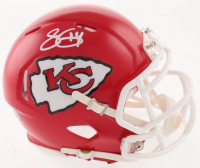 Sammy Watkins Signed Kansas City Chiefs Speed Mini Helmet (Beckett COA) at PristineAuction.com