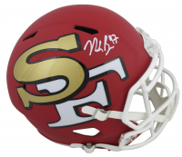 Nick Bosa Signed San Francisco 49ers Full-Size AMP Alternate Speed Helmet (Beckett COA) at PristineAuction.com