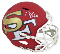 George Kittle Signed 49ers Full-Size AMP Alternate Speed Helmet (Beckett COA) at PristineAuction.com