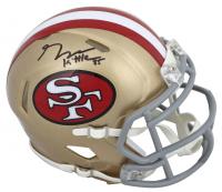 George Kittle Signed San Francisco 49ers AMP Alternate Speed Mini Helmet (Beckett COA) at PristineAuction.com