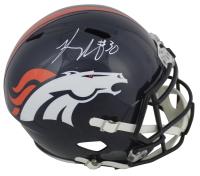 Phillip Lindsay Signed Denver Broncos Full-Size Speed Helmet (JSA COA) at PristineAuction.com