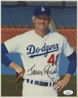 Jerry Reuss Signed Los Angeles Dodgers 8x10 Photo (JSA COA) at PristineAuction.com