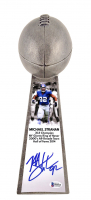 "Michael Strahan Signed New York Giants 15"" Lombardi Football Championship Trophy (Beckett COA) at PristineAuction.com"