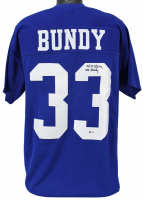 "Ed O'Neill Signed Jersey Inscribed ""Al Bundy"" (Beckett COA) at PristineAuction.com"