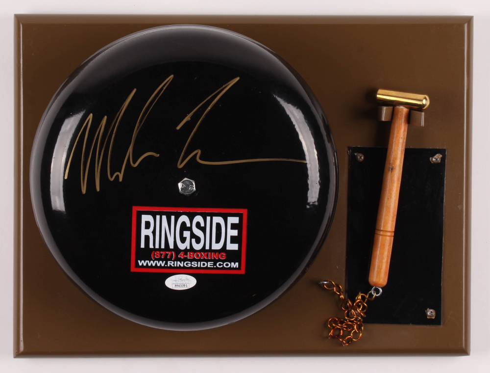 Mike Tyson Signed Authentic Full-Size Ringside Boxing Bell (JSA Hologram) at PristineAuction.com
