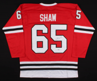 Andrew Shaw Signed Jersey (Beckett COA) at PristineAuction.com