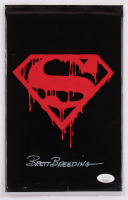 "Brett Breeding Signed 1992 ""Superman"" Issue #75 DC Comic Book Black Bag Collector's Set (JSA COA) at PristineAuction.com"