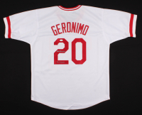 "Cesar Geronimo Signed Jersey Inscribed ""75, 76 WSC"" (JSA COA) at PristineAuction.com"